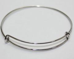 Fashion Silver Iron Bracelet Bangle Accessories Jewelry Silver