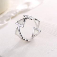 Women Jewelry Glow In The Dark Turtle Butterfly Heart Owl Luminous Ring 7 Silver