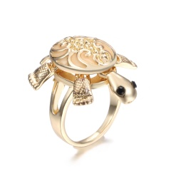Women Jewelry Glow In The Dark Turtle Butterfly Heart Owl Luminous Ring 8 Tortoise