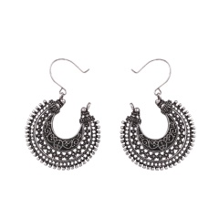 Fashion Silver Alloy Vintage Dangle Earrings Jewelry Wholesale Statement