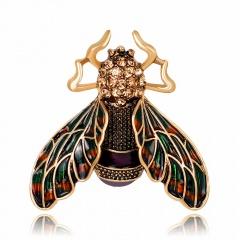 RINHOO Baby Classic Enamel Swallow Brooch Pins Scarf Pins Gift Banquet Weddings Accessories bee