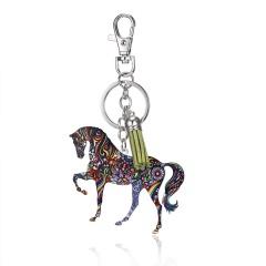 Animal Acrylic Bag Keychain Horse