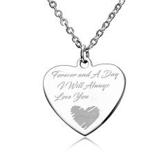 Stainless Steel Heart Pendant Jewelry Heart 2