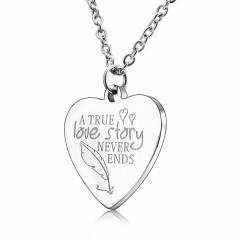 Stainless Steel Heart Pendant Jewelry Heart 3