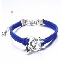 Rinhoo accessories Red string bracelet charm female handmade friendship jewelry bracelet ladies men Hand-woven bracelet jewelry rope Couple