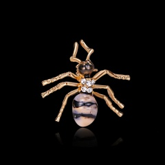 New Natural Ant Animals Jewelry Brooch Pins Insect Brooches For Women Man Costume Brooch Pins Gift ANT1