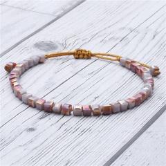 Rinhoo Classic Bling Crystal Bead Friendship Bracelet Coloful Adjustable Bracelet Jewelry for women Beaded Bohemia OL Bracelet Bracelet 1