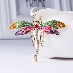 Butterfly Bird Enamel Brooches Women Fashion Metal Insects Wedding Party Banquet Brooch Pins Wedding Bride Jewelry Best Gift animal1