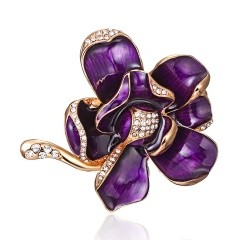 New Fashion Big Brooches Flowers Brooches For Women Flamingo Brooch Safety Pin Brooch wedding Gifts flower2