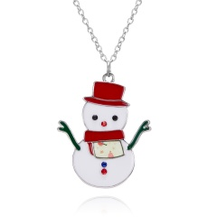 Fashion Christmas Enamel Brooch Pin Gift snowman
