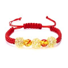 Crystal Beaded Hand-woven Bracelet Crystal