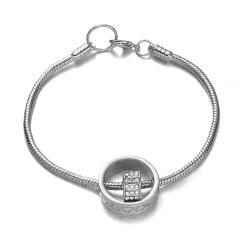 Rinhoo charm hollow heart round Bracelet Unique gold silver heart chain bracelet bangle wedding jewelry gift for women bracelet silver