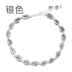 Shell Hand-woven Choker Necklace Shell 1