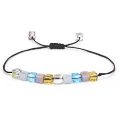 crystal bracelet black