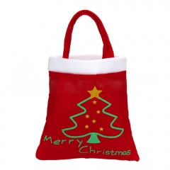 Christmas Party Candy Bags Santa Claus Pants Snowman Stocking Gift Storage Bag Bag