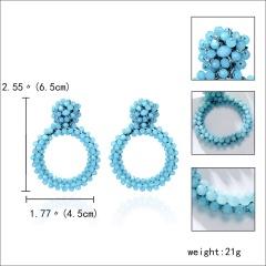 Circular earrings 4