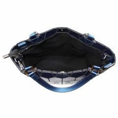 Blue Black Silver Geometric Diamond Shoulder Bag Crossbody Bag Black