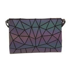 Geometric Rhombus Messenger Bag Luminous Folding Female Bag MS3160B-5