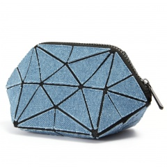 Triangle Toiletry Bag, Cowboy Toiletry Bag, Bag In Hand 21.5*10.5*10.5cm Cambridge blue