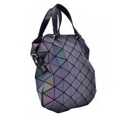 Geometric Ringer Shoulder Bag Crossbody Bag Glow-out Bag For Ladies Bag For Ladies 26.5*26.5*7cm The diamond model