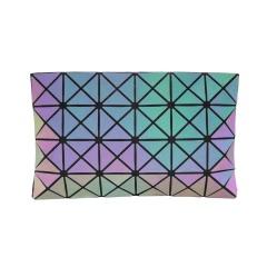 Geometric Diamond Single Shoulder Diagonal Cross Bag Luminous Color Chest Bag Triangle