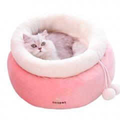 Winter cat litter cat sleeping bag Pink