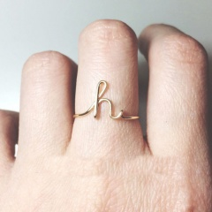 Letters ring H