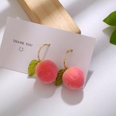 Peach Earrings ER20Y0227-1