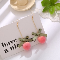 Peach Earrings ER20Y0227-2