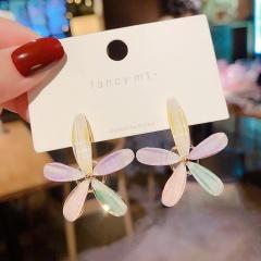5 Kinds Of Love Flower Petal Earrings 312