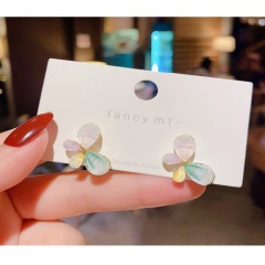 5 Kinds Of Love Flower Petal Earrings 313