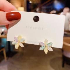 5 Kinds Of Love Flower Petal Earrings 314