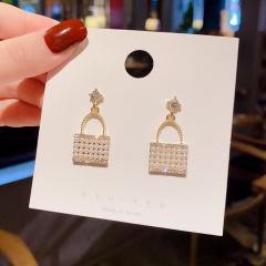Pearl Bag Earrings 320