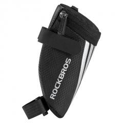 Black Mountain Bike Tool Tail Bag Riding Equipment Accessories Cycling Bag Black+Bandage