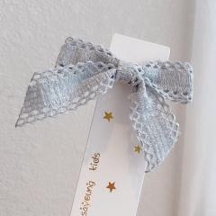 Ins Bow Hairpin All-match Hair Clip Hair Accessories Headwear Blue