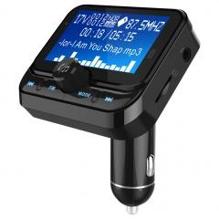 1.8 Inch Dot Matrix Screen Car Bluetooth Mp3 Player Black
