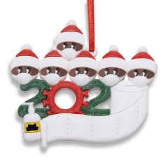 Add Name Christmas Personalized Ornament Xmas Tree Hanging Ornaments Family Gift 6