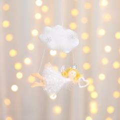 Cloud Angel Doll Christmas Tree Decoration Wholesale White-heart