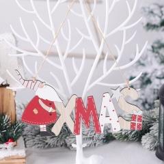 Santa Claus Letter Card Christmas Ornaments XMAS
