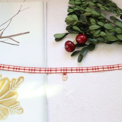 Christmas Series Dangle Chuck Necklace Wholesale Santa Claus