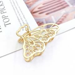 Wholesale Fashion Headwear Butterfly Matted Gold