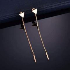 Gold Long Chain Cheap Earrings Jewelry Gold
