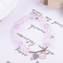 Fashion Crystal Beads Fishtail Elastic Bracelets Wholesale style 5