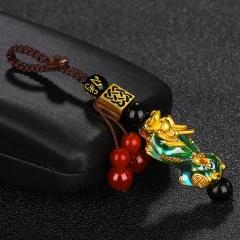 Thermochromic Enamel Pixiu Keychain keychain