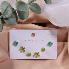 Enamel Earrings 3PCS/Set Wholesale 1